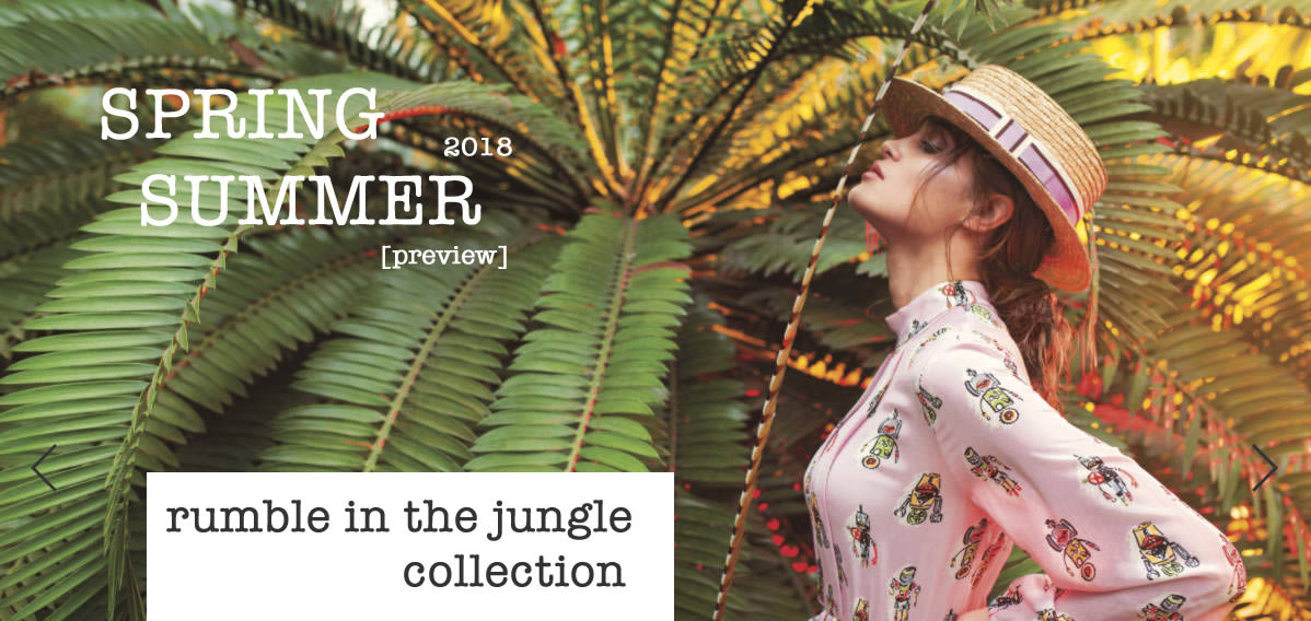 Spring summer 18 - rumble in the jungle collection