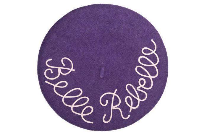mantrabasco beret belle rebelle viola