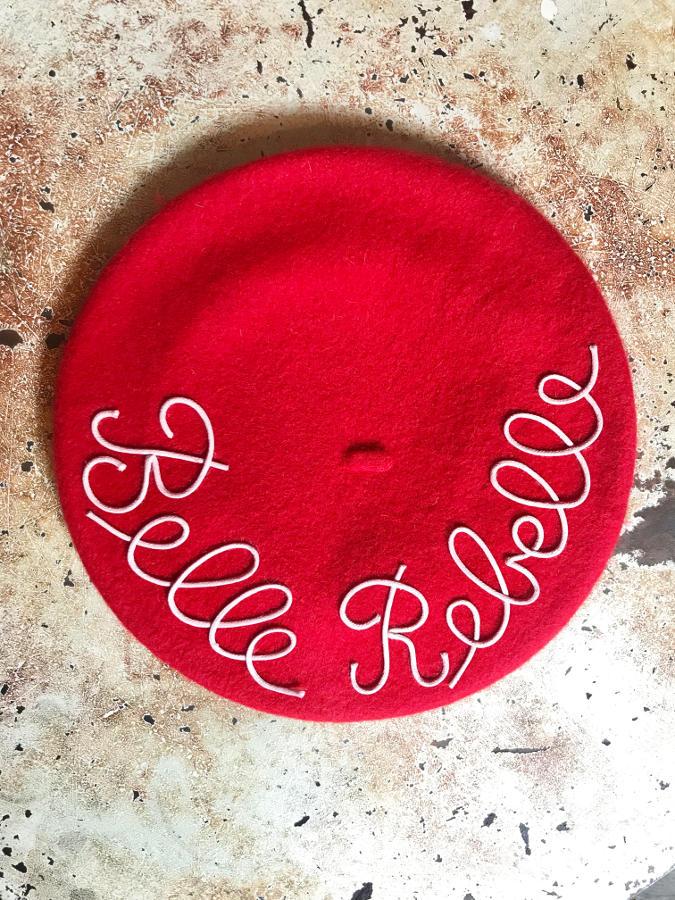 mantrabasco belle rebelle rosso