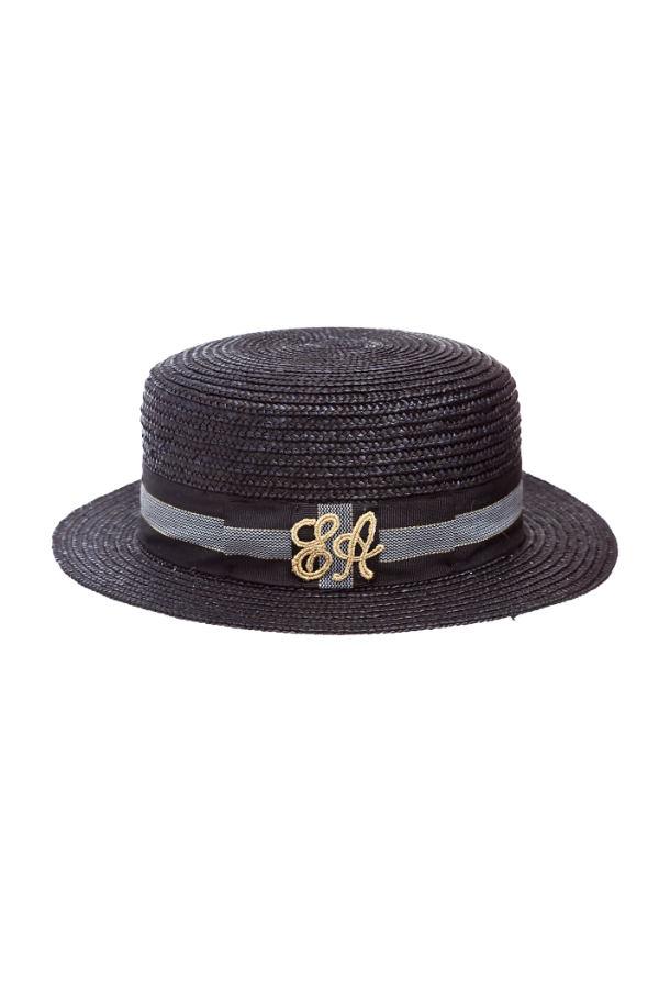 guarda bene le scarpe in vendita data di uscita vendita di liquidazione Cappello di paglia donna nero – Leontine Vintage