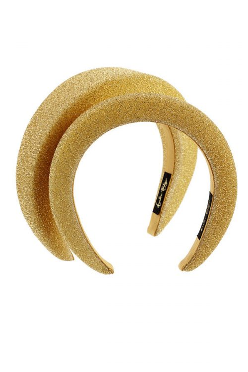 luirex gold headband small