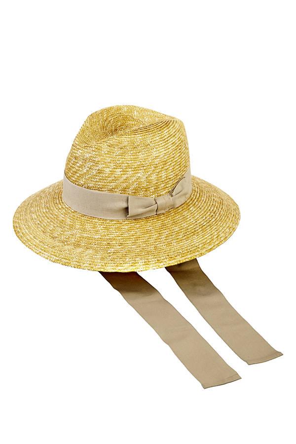 Cruise cappello in pagnia con nastro sabbia