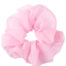 scunchie oversize rosa in chiffon