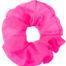 scrunchie oversize rosa fluo in chiffon