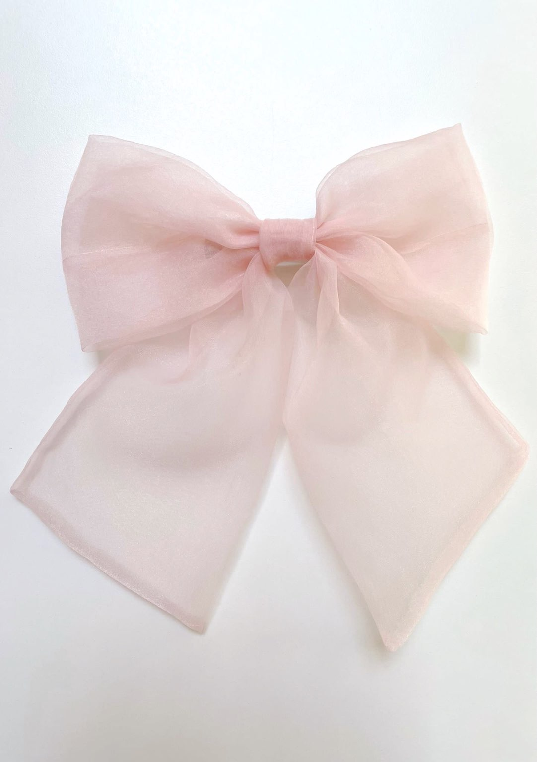 fiocco organza rosa